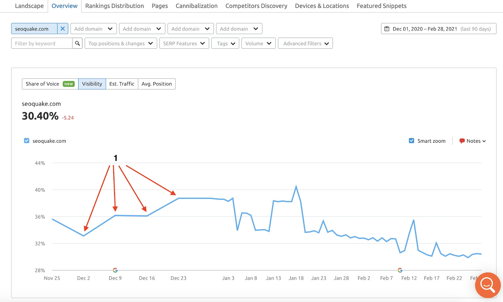 How often does Position Tracking update its data? image 2