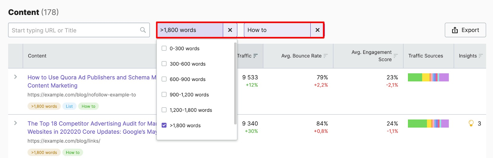1800+ words How-tos