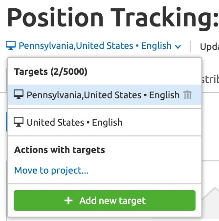 Configuring Position Tracking image 10