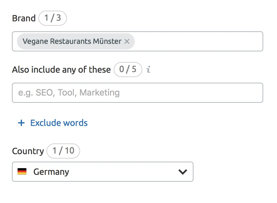 Why Brand Monitoring doesn't Show any Mentions for my Keywords? image 1