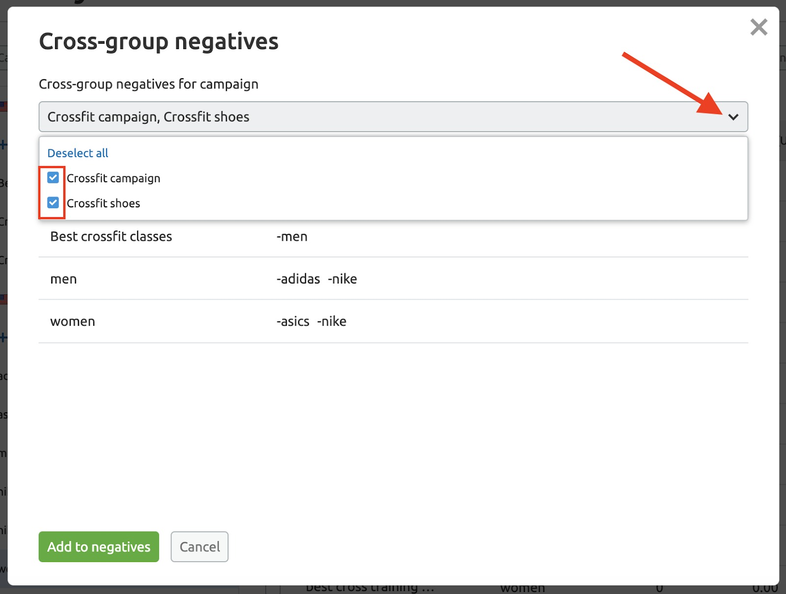 PPC Keyword Tool Recommendations image 6